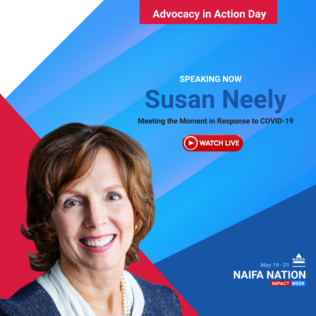 Susan Neely speaks to NAIFA Advocacy in Action Day