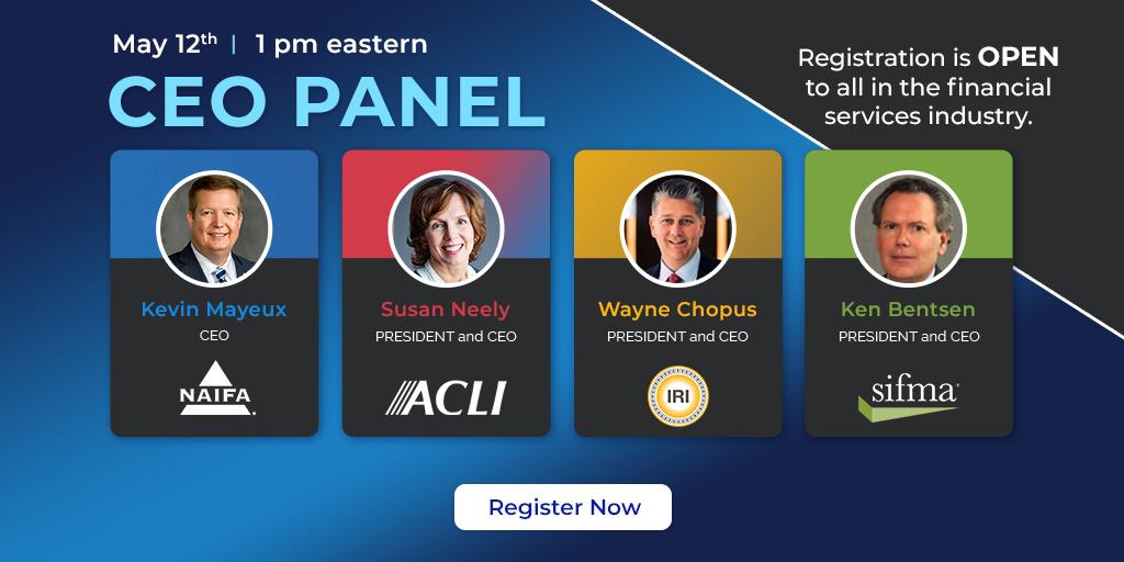 Join us for NAIFA's CEO Panel